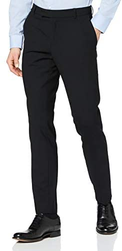 ESPRIT Collection Herren ACTIVE SUIT Slim Anzughose