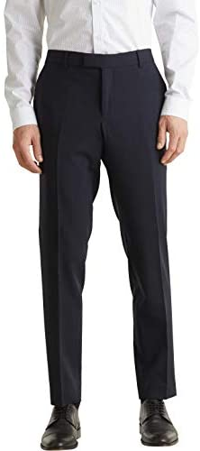 ESPRIT Collection Herren ACTIVE SUIT Straight Anzughose
