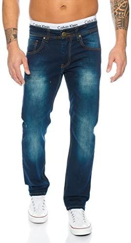 Rock Creek Herren Jeans Hose Denim Stretch Jeanshose Stonewashed W29-W44